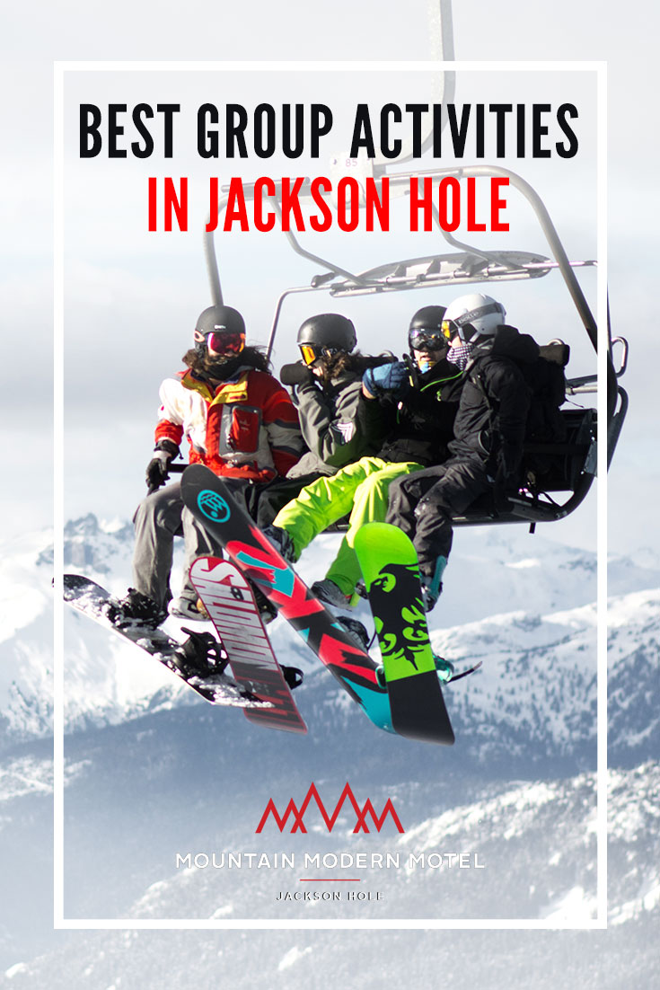 Group Activities in Jackson Hole