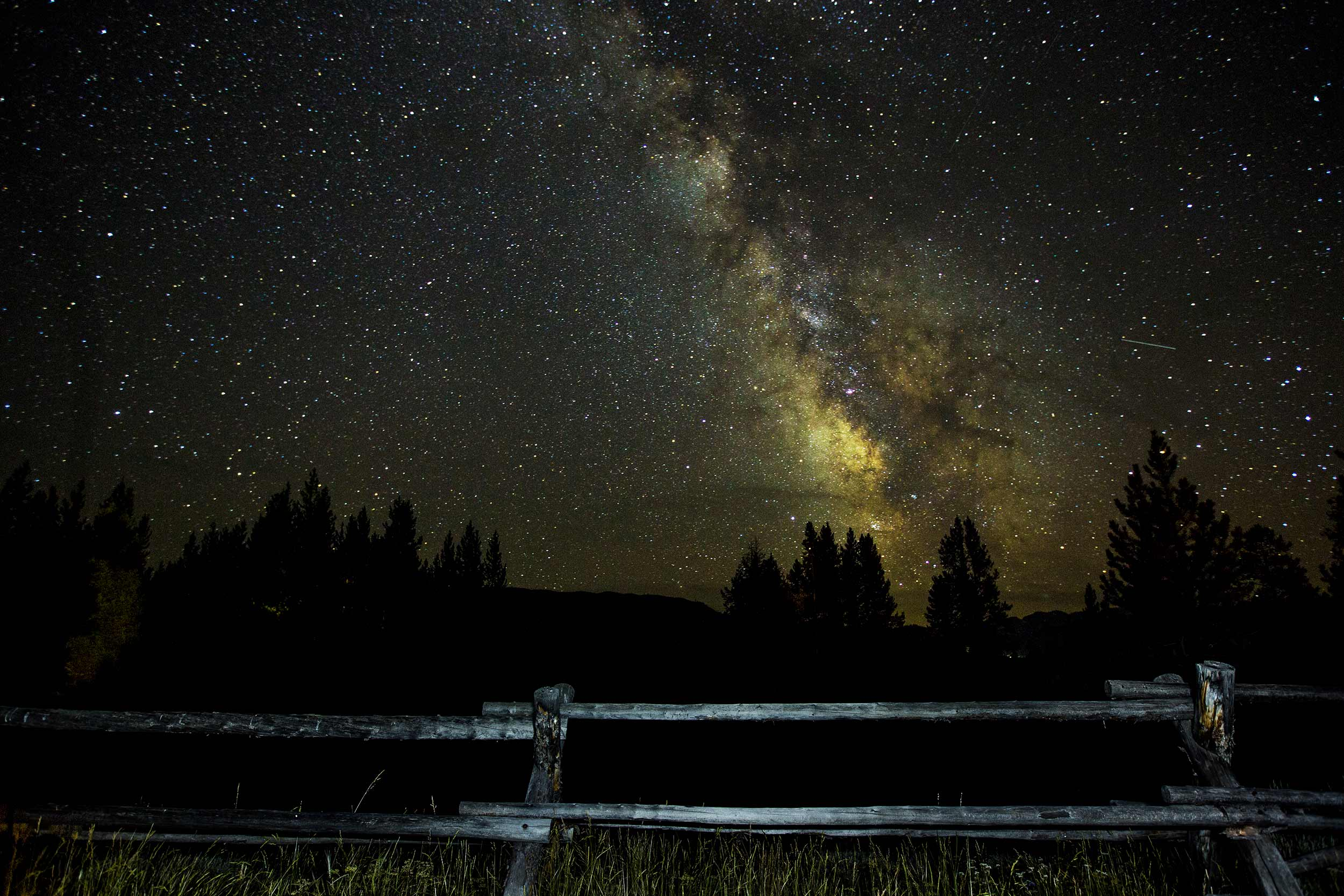 Stargazing in Jackson Hole - Milky Way